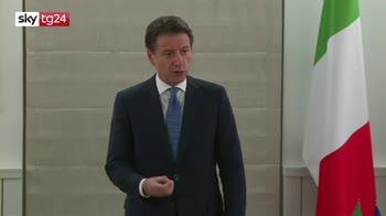 ERROR! Conte da Mosca difende la manovra dalle critiche della UE