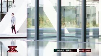 X Factor Daily 3: Emanuele Bertelli