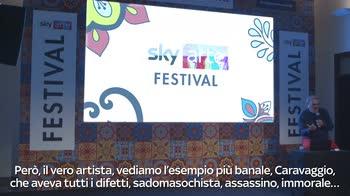Sky Arte Festival, intervista a Oliviero Toscani 1/2