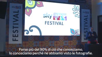 Sky Arte Festival, intervista a Oliviero Toscani 2/2