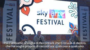 Sky Arte Festival, intervista a Carlo Lucarelli 1/2
