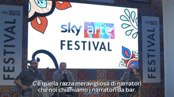Sky Arte Festival, intervista a Carlo Lucarelli 2/2