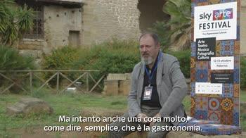 Festival Sky Arte Palermo, incontro con Carlo Lucarelli 1/2
