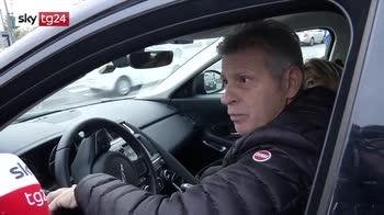 Cellulare alla guida, Tg24 a Milano con vigili in borghese