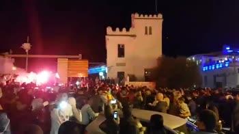 tunisia festa tifosi vittoria Esperance
