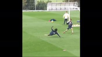 Marcelo, golazo in allenamento: rovesciata da applausi