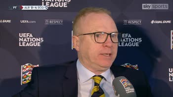 McLeish: A professional performance