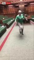 MP does keep-ups in the Commons chamber