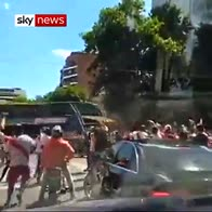 Players hurt as fans attack Boca bus