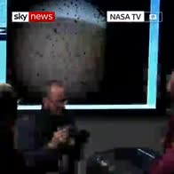 NASA cheers as InSight spacecraft lands on Mars