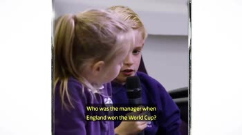 Southgate grilled by schoolkids