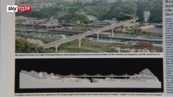 Crollo Morandi, ecco i progetti per il nuovo ponte