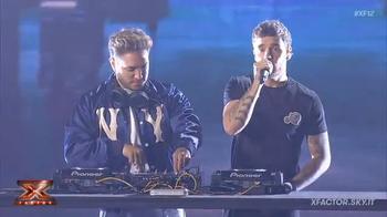 Liam Payne e Jonas Blue a X Factor 2018