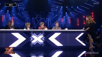 Daniela Collu e i giudici commentano il Sesto Live Show