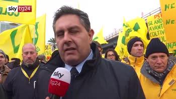 Crollo Morandi, agricoltori al porto contro la crisi