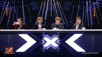 I giudici commentano l'esibizione di Anastasio