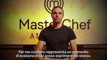 MasterChef All Stars: Alberto Menino prima della sfida