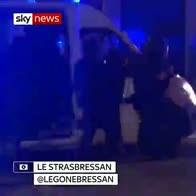 People flee as gunman stalks Strasbourg