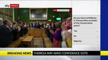 The moment May's career was saved