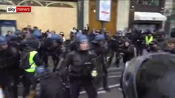 At least 148 arrested in Paris protests