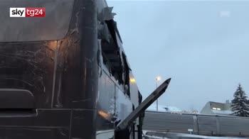 ERROR! Schianto bus in Svizzera, la vittima è italiana