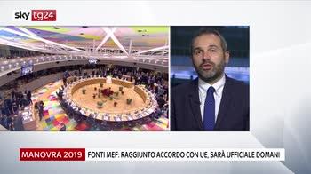 Fonti MEF: trovato accordo Roma-Bruxelles