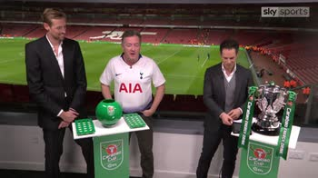 Piers Morgan in a Spurs shirt!
