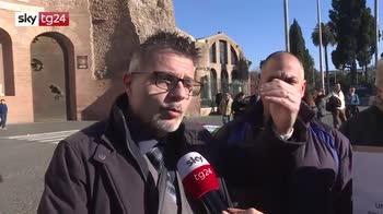 ERROR! Protesta Ncc, momenti di tensione a Roma
