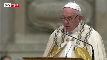 ERROR! Papa al Te Deum: troppi vivono in schiavitù, anche a Roma