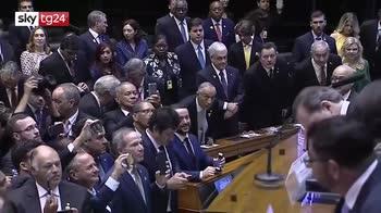 Barsile, l'insediamento di Bolsonaro