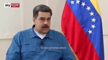 ERROR! Maduro a Sky tg24: non c'è rischio, ma minaccia guerra