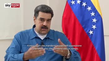 """ERROR! Maduro a Sky tg24: """"l'opposizione accetti il dialogo"""""""