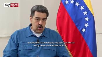 "ERROR! Maduro a Sky tg24: ""no a un mondo con egemonia dominante"""