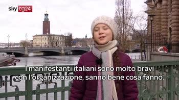 ERROR! Greta: non vedo l'ora di essere a Roma, sarà bello
