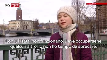ERROR! Greta Thunberg, intervista esclusiva a Sky Tg24