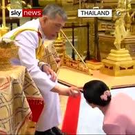 Thai King blesses new consort