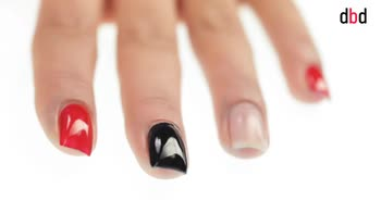 Idee nail art: decorazione con stripes