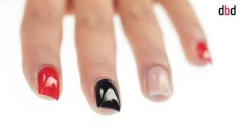 Idee nail art: decorazione con stripes