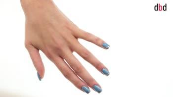 Idee nail art: unghie a tre colori