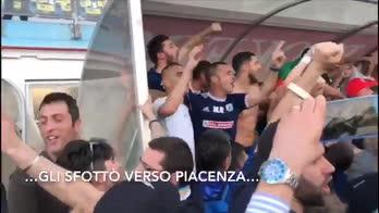 Virtus Entella in Serie B, il video della festa promozione