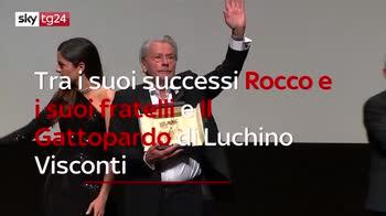 ERROR! A Cannes Alain Delon ritira il premio alla carriera