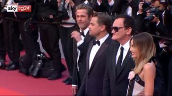 Tarantino, DiCaprio e Pitt a Cannes per il nuovo film