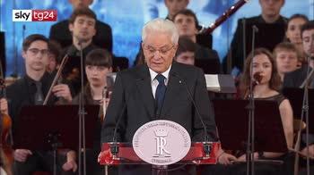 Mattarella: 2 giugno simbolo di libertà e democrazia