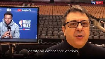 NBA, Tranquillo sui dubbi Warriors prima di gara-2