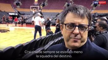 NBA Finals: Flavio Tranquillo prima di gara-5
