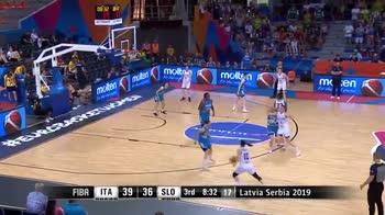 EuroBasket donne, 15 punti di Martina Crippa vs Slovenia