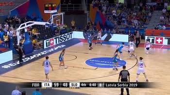 EuroBasket donne, Italia-Slovenia 75-57: gli highlights