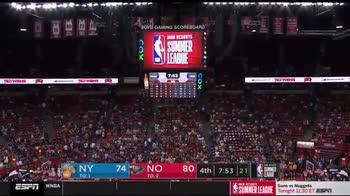 NBA Summer League, terremoto e paura a Las Vegas