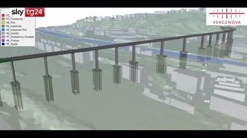 Crollo Morandi, il rendering del nuovo ponte. VIDEO