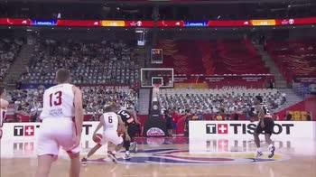 Mondiali Basket: Joseph e il buzzer beater da centrocampo